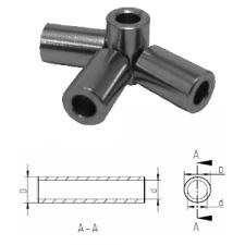 abstandsrollen messing vernickelt innendurchmesser 2 6 mm f r gewind. Black Bedroom Furniture Sets. Home Design Ideas